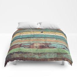 Wooden Vintage Comforters