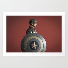 Super Soldier  Art Print