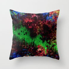The Night Turns To Rust Throw Pillow