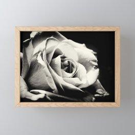 She Blooms Framed Mini Art Print