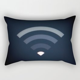 Wifi symbol signal LCD screen Rectangular Pillow