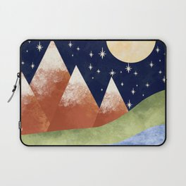 Full Moon In The Mountains Laptop Sleeve