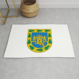 flag of mexico city Rug