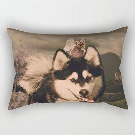 Wind in Your Hair Rectangular Pillow