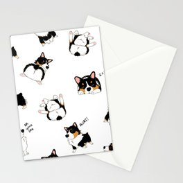 Tri Cute as Hecc Stationery Cards