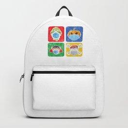 Halloween 2020 Quarantined Pumpkin Vampire Zombie Gift Backpack