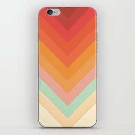 Rainbow Chevrons iPhone Skin
