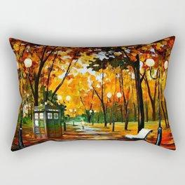 Tardis Alone Rectangular Pillow