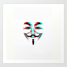 Anonymous.2 Art Print