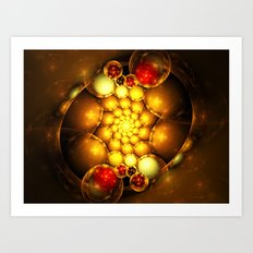 Dragon Eggs Art Print