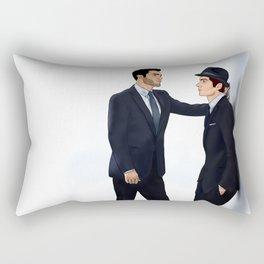 Sterek White Collar AU Rectangular Pillow