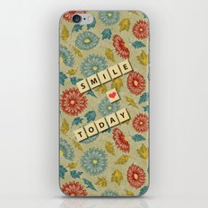 Smile Today iPhone & iPod Skin