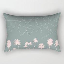 Tropical Night Sky Rectangular Pillow