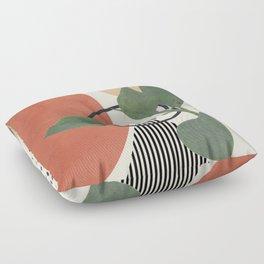 Nature Geometry III Floor Pillow