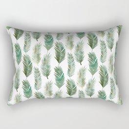 Palm Leaves Pattern Rectangular Pillow