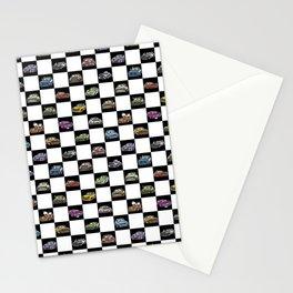Crazy Car Art 0158 Stationery Cards