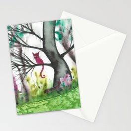 Padua Whimsical Cat Stationery Cards