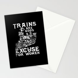 Train Woman Train Driver Stationery Cards