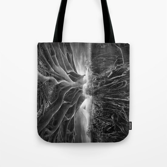 Black and White - No escape Tote Bag