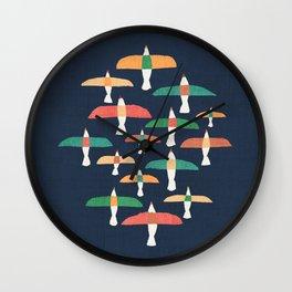 Vintage seagull Wall Clock