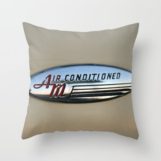 Air Conditioned Throw Pillow
