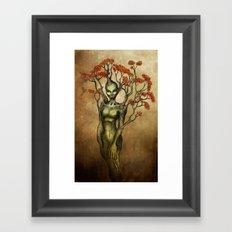 Crimson Dryad Framed Art Print