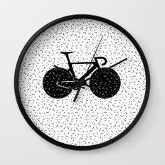 Track Bike Wall Clock
