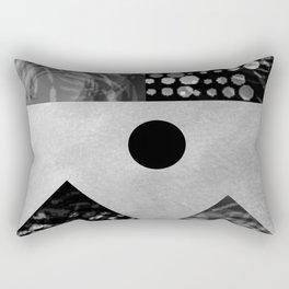 Black and white landscape Rectangular Pillow