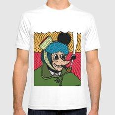 SEVERED EAR.  (Self Portait Of Van Gogh). Mens Fitted Tee White MEDIUM