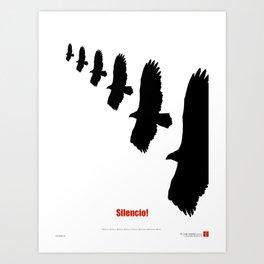 CUBA: Silencio! Art Print
