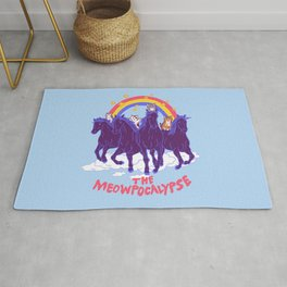 Four Horsemittens Of The Meowpocalypse Rug
