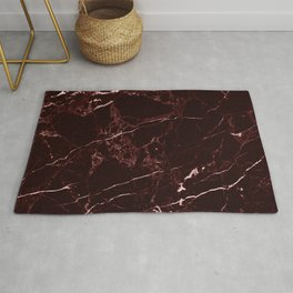 Masala Red Marble Rug