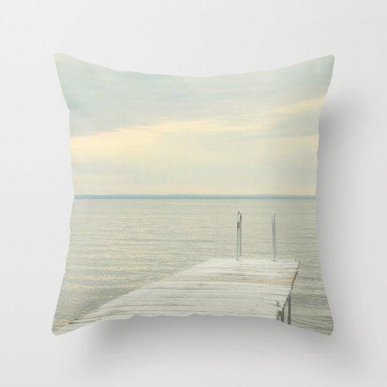 Dock Throw Pillow