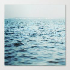The Blue Channel Canvas Print