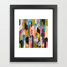 Crystallized Framed Art Print