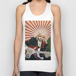 Wildflowers (Tom Petty Tribute Mural, Gainesville) Unisex Tank Top