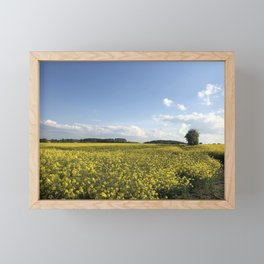 Fields of Gold Framed Mini Art Print