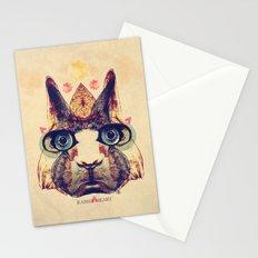 Rabbit Heart Stationery Cards