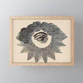Vintage Magic Eye Framed Mini Art Print