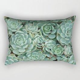 Green valentine Rectangular Pillow