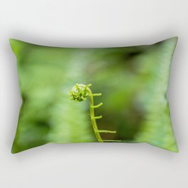 New beginnings. Rectangular Pillow