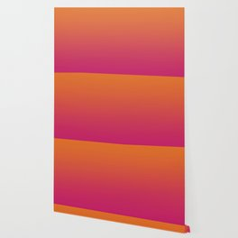 Pink Orange Red Gradient Pattern Wallpaper