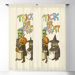 Happy Halloween! Blackout Curtain