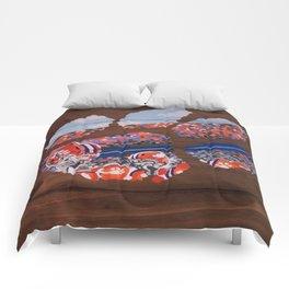 Clemson Tiger Paw Comforters