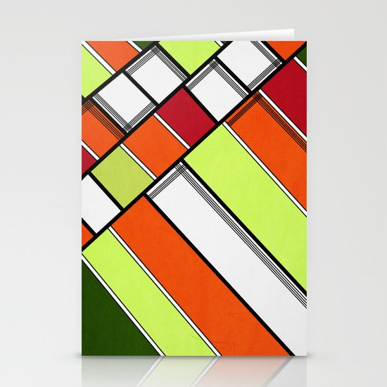 Lined II Stationery Cards