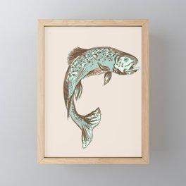 Brown Trout Framed Mini Art Print