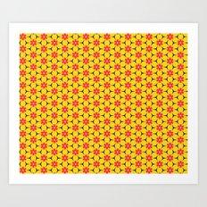 Vandenbosch Yellow Art Print