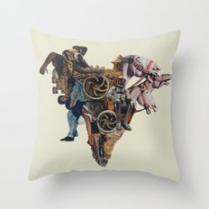 Ashes in the Arteries Throw Pillow