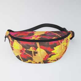 Blowing In The Wind Floral Fanny Pack