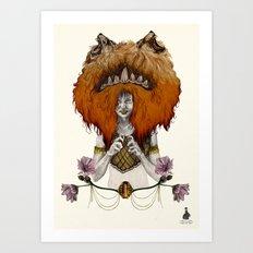 L  E  O [in colour] Art Print